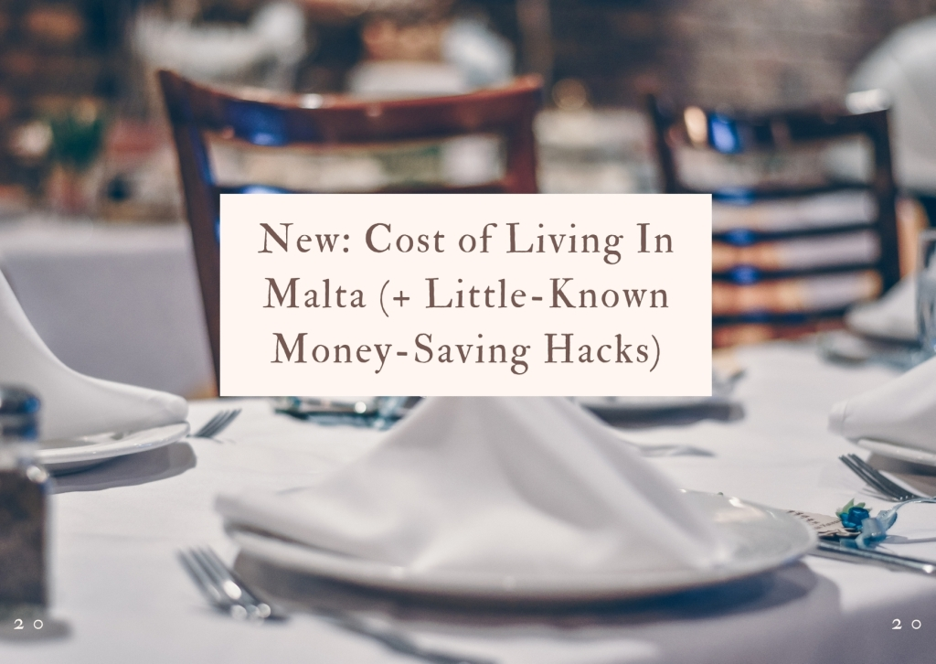 Cost of Living in Malta title page