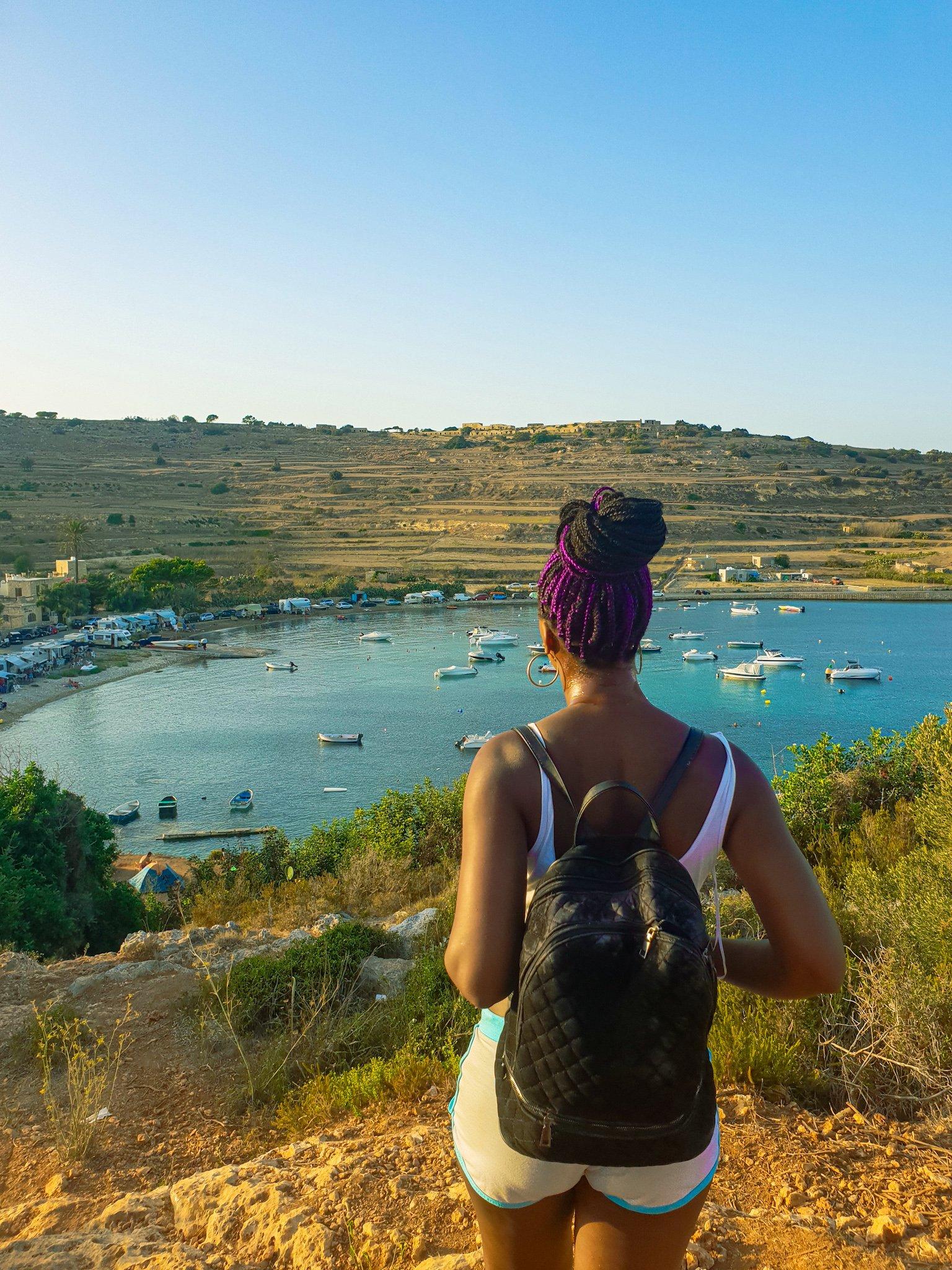 Selmun, overlooking Mistra Bay, Malta